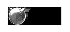 Logo Freebsd cinza